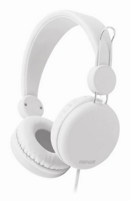 Fejhallgató Maxell SMS-10S white baeab69490