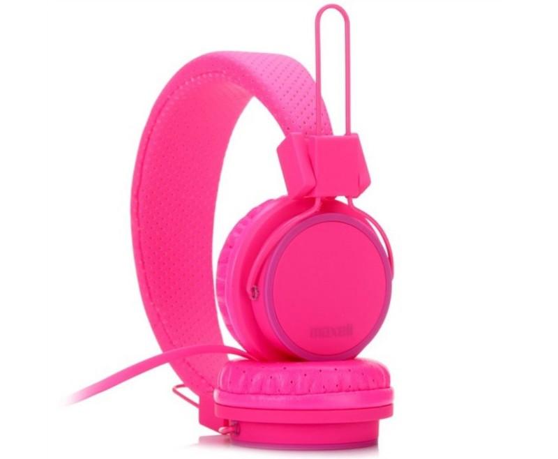 Fejhallgató Maxell SMS-10S pink c02604fcc1