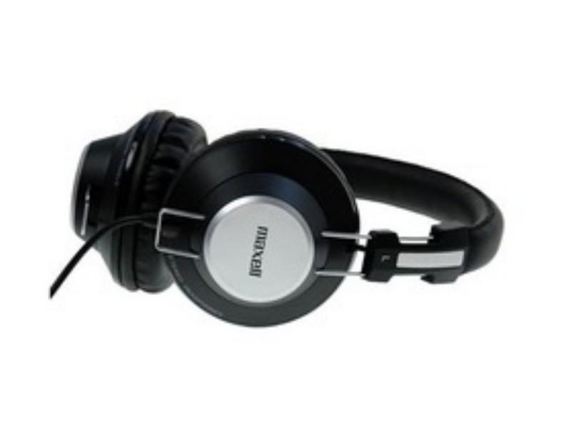 Fejhallgató Maxell Retro Dj fekete e517e139a1