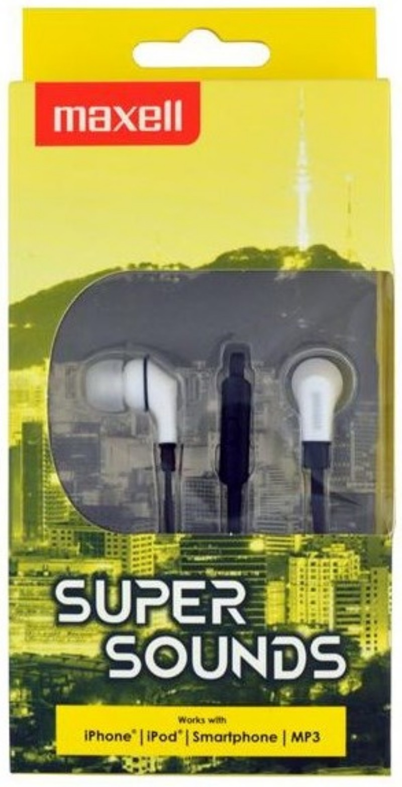 Fejhallgató Maxell Supersound Black a65ace2215